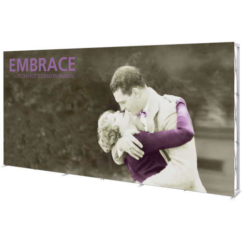 Embrace 15ft Full Height Push-fit Tension Fabric Display