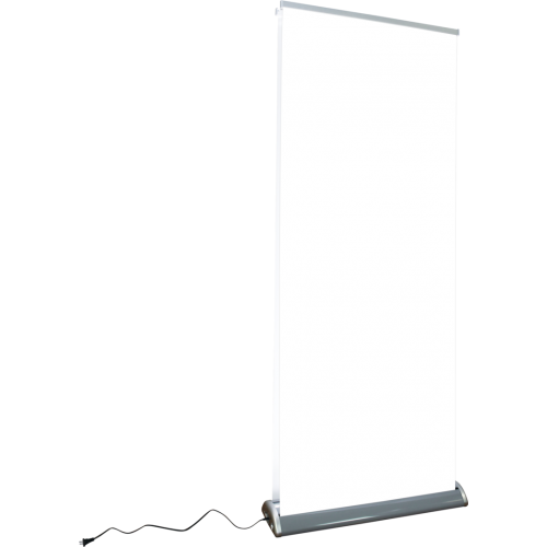 Illumistand Double Sided Light Up Retractable Banner Stand