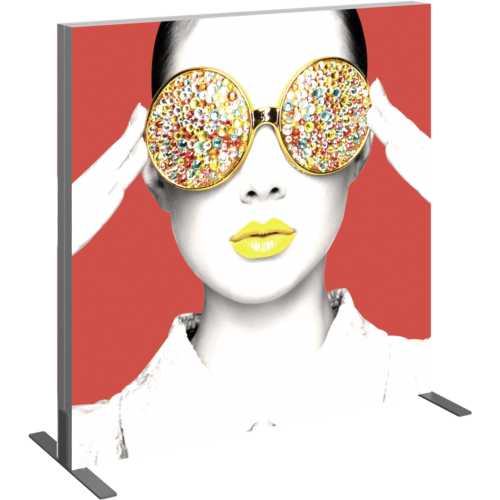 Vector Frame Light Box Square 02 Fabric Banner Display