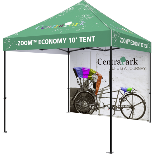 Zoom Economy and Standard 10 Popup Tent Full Wall Only