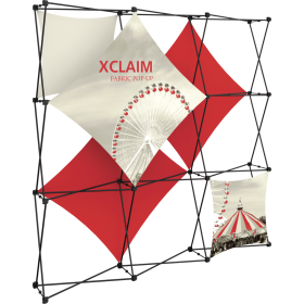 Xclaim 8ft Fabric Popup Display Kit 02